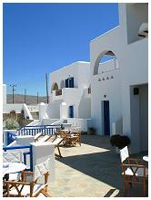 Rita's Place Hotel in Ios Island Greece