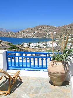Rita's Place Hotel in Ios, Hora, Yialos, Cyclades, Greece